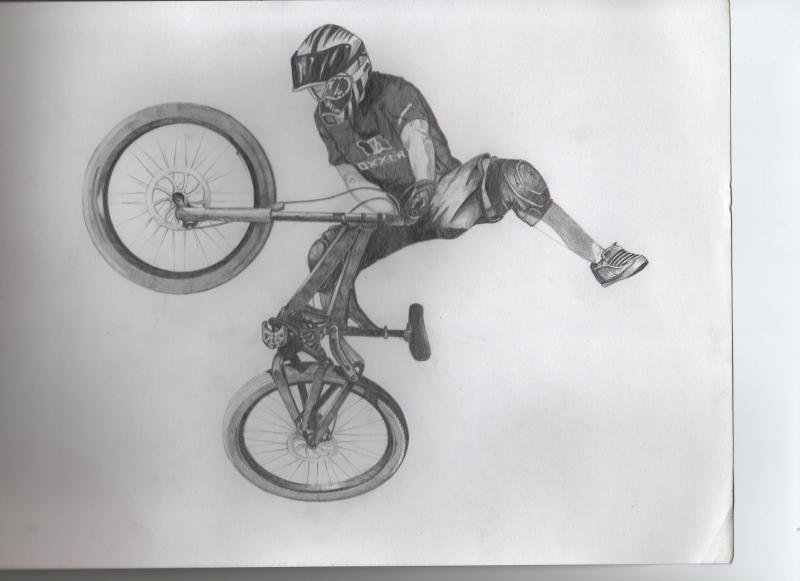 a drawing i drew of steve romaniuk, sorry for the quality, the scanner wouldn't work properly