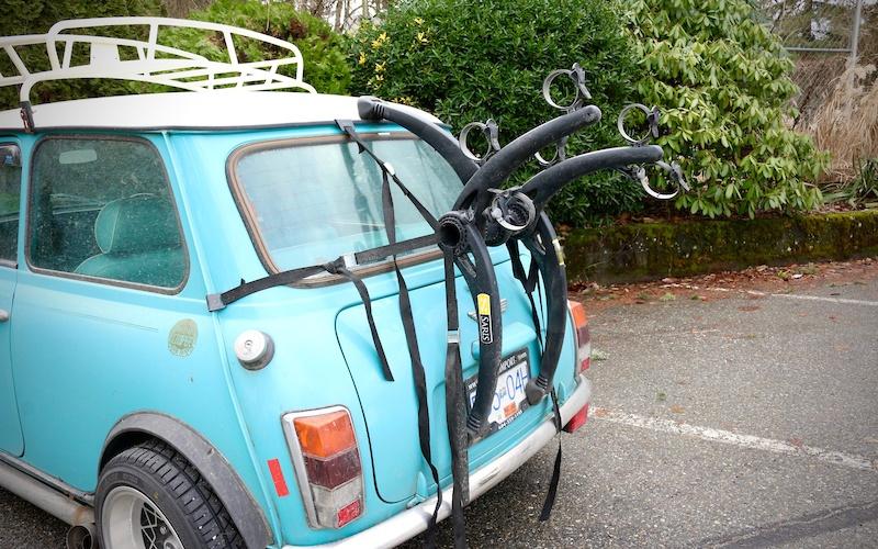 Professional Toe Tow Bar Platform 2,3,4 Bike Rack with Number Plate an Lights