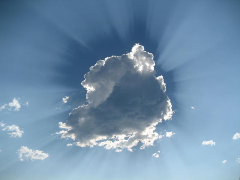 really cool cloud that i saw at shuswap lake
