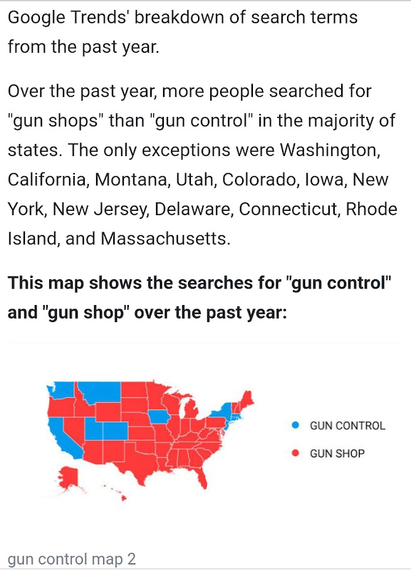 With all this talk about guns and hearing how dangerous they were I am truly amazed. I have grown up around weapons and Firearms my entire life. Upon hearing how dangerous guns were I decided to do my own study. I loaded my shotgun with five live rounds. I placed it on the front porch next to the door. During the day the mail was delivered. I watched several people walk past my house. UPS dropped off some bike parts and set in the box right next to the shotgun. Traffic and pedestrians continued passing in front of my house all day long. At the end of the day the gun remained harmless. The gun set on my front porch and dealt with Society all day long and never killed a single person. Thus my amazement when I found out how dangerous guns are. People are what are dangerous. People give guns a bad name. A gun cannot perform a single action other than sitting Motionless. If we do not fix people controlling guns will do nothing.