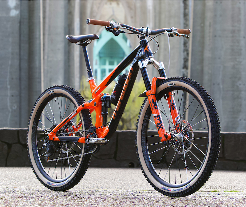 2018 Scout 2018 Fox Factory 36 HSC LSC FIT PUSH ACS 3 Coil Conversion Orange Spring Hand Polished 37mm Offset Crown