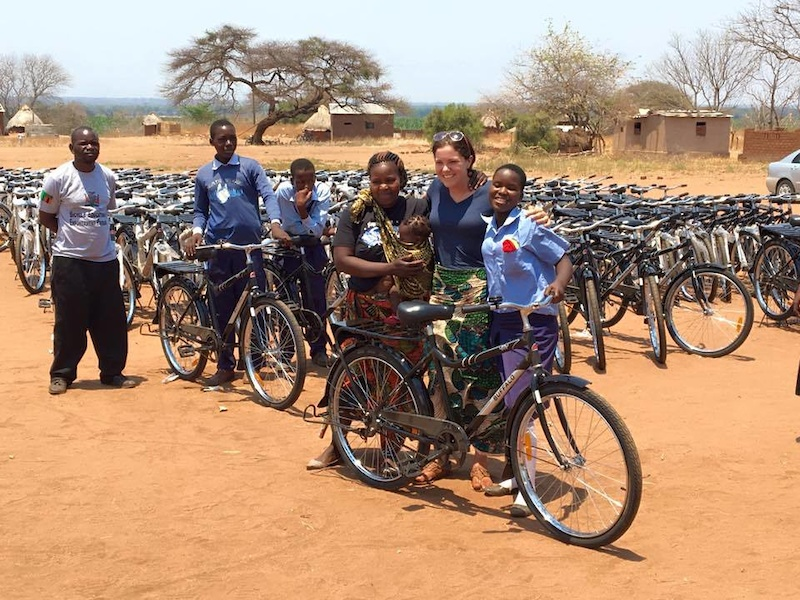 Photo courtesy of World Bicycle Relief