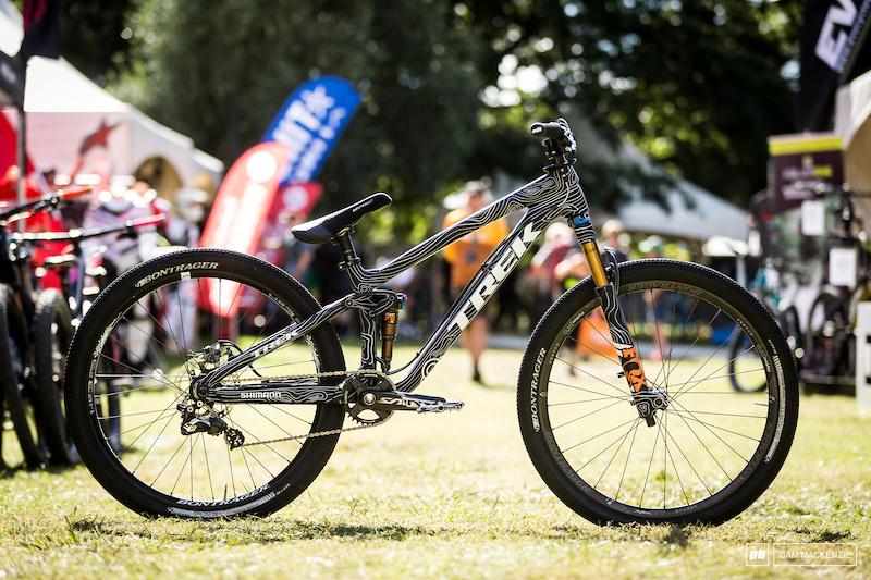 Bike Check: Brett Rheeder's Custom Painted Trek Ticket S