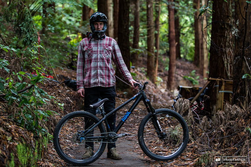 Jakub Vencl and his Rose The Jester 2 slopestyle bike.