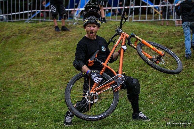 Ryan Nyquist and his Haro Steel Reserve 1.3