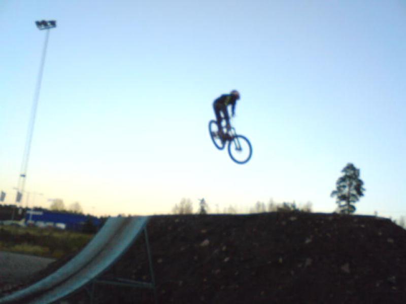 Getting air:)