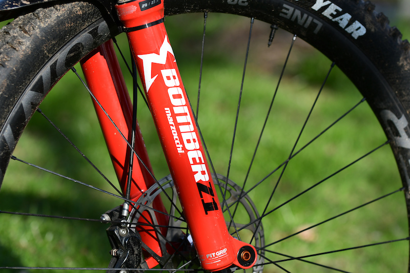 a60ebf922b5 Marzocchi's New Bomber Z1 Fork - First Ride - Pinkbike