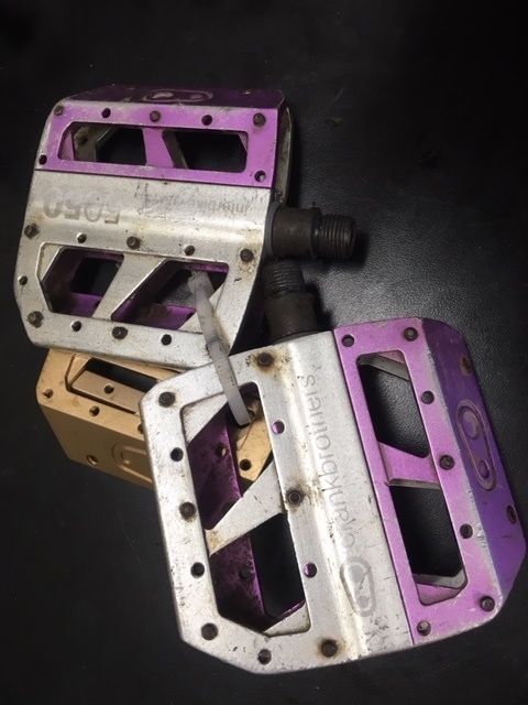 2008 Crank Bros Pedals with extra plates