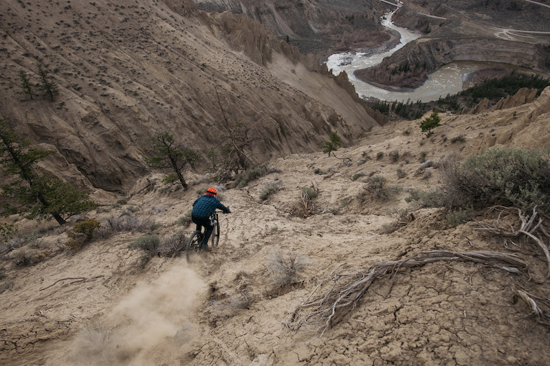 Alex Pro dropping in blind. Way steeper than it looks.