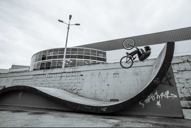 Fakie frontlip in Krasnodar. Photographer -- Andrey Kot