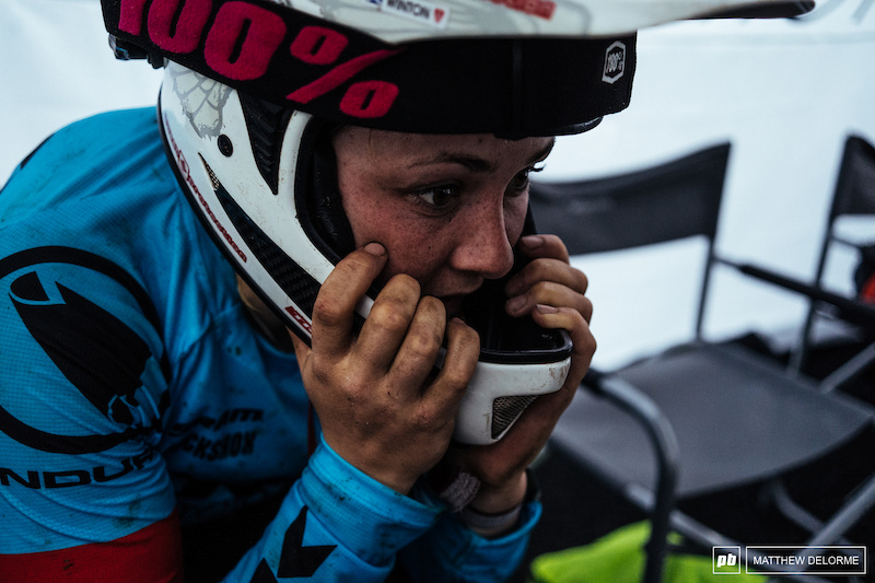 An Update From Katy Winton After Her Brutal Crash At EWS