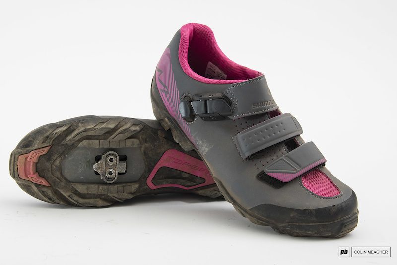 Grey- Magenta Size Eur 41 US 8.5 Shimano Womens ME3 Cycling Shoes