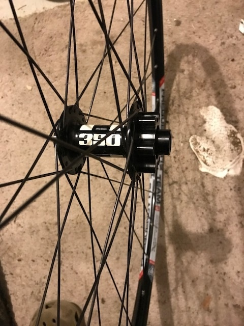 0 WTB i19 on DT Swiss 350 hub Front Wheel