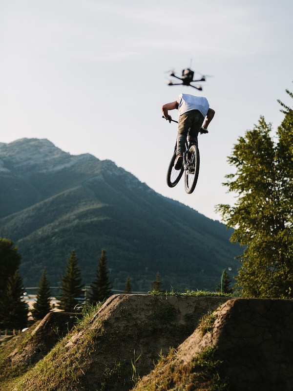 Must Watch: Precision Drone Piloting Makes Riding Look