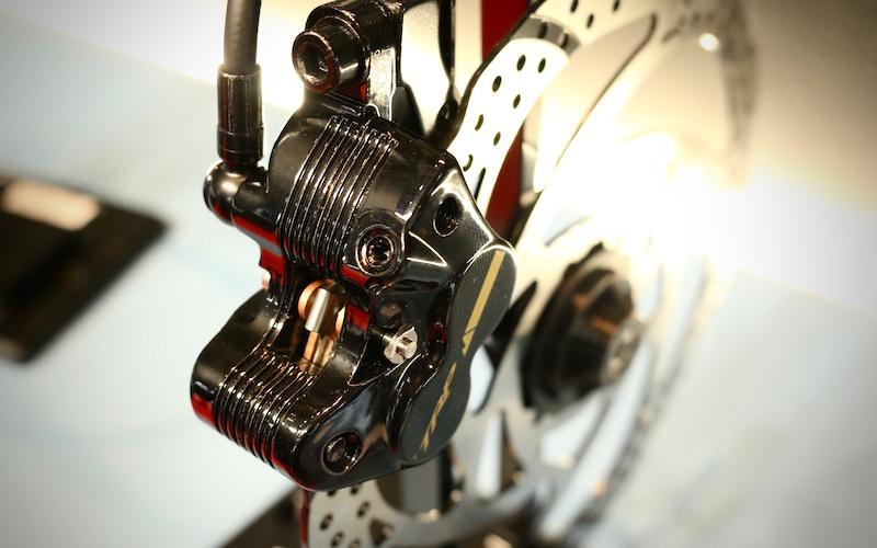 Resin Disque Patins de frein Compatible Avec TRP Quadiem HD M830 G Spec Trail SLC