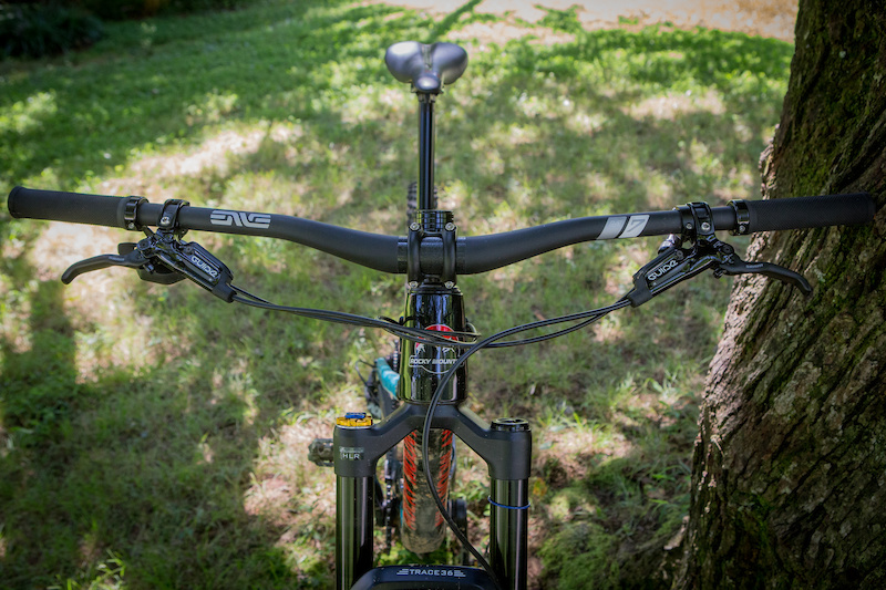Black Cycling Mountain Bike Bicycle Extra Long Handlebar 31.8x 780mm Riser Bar