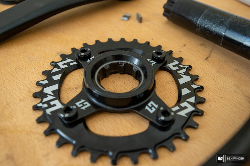 Kit boost hxr components dh black
