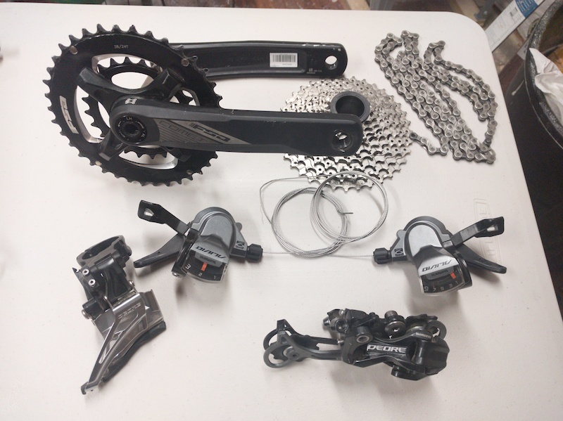 2016 Shimano Deore/Alivio 2x9 Groupset For Sale