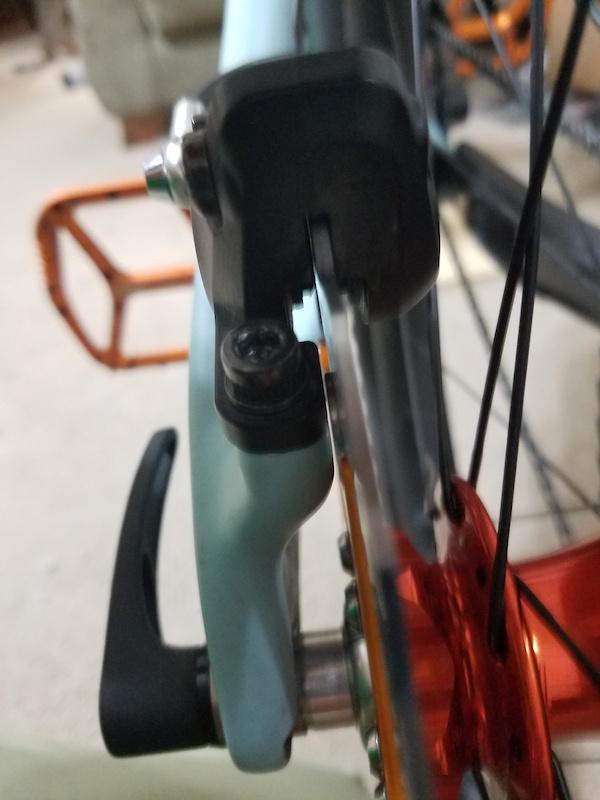 Hope rotor rivet clearance on 2019 Santa Cruz Hightower LT CC