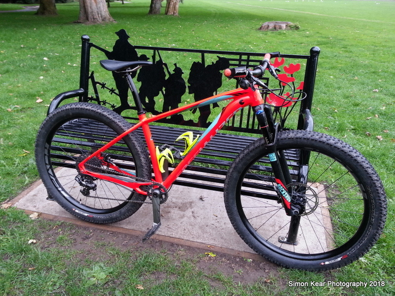 Kev the legend worked some magic today, lazy me sit back in the rain thinking of a Latte, cheers Kev, the tab goes on....rear bleed brake on an awkward avid, spokes tweaked and trued, front and rear, front cable moved around, BB adjusted, rear wheel stripped, bearings cleaned, but will need replacing, new chain soon, and damper kit on the front forks maybe, see how she holds out. Dropper post taken off and Kevs fresh Thomson fitted. The man was flat out today and is like a top henchman. Some of you know I'm fed up of the industry at present, but it's a personal thing, not against you, but if you don't agree,tough lol .x. Just to let you know also, may be coming off Pinkbike shortly and deleting my profile also, just to let you know it was nice meeting you for the duration, some of my closest can get to me via email or Facebook.