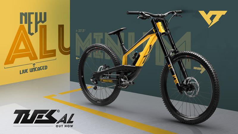 fe6c3142d7b YT Introduces Aluminum Tues DH Bike - Pinkbike