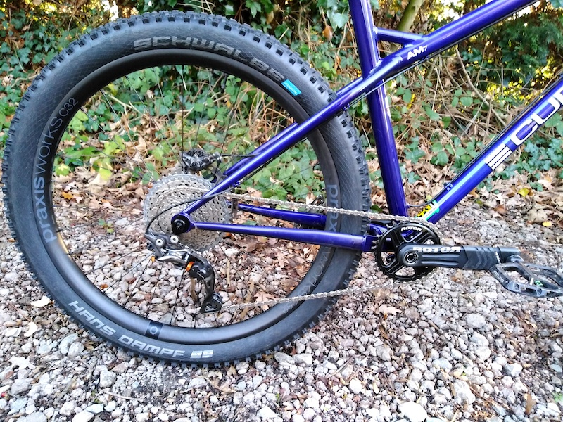 Curtis AM7 now with pikes and new praxis works C32 carbon wheelset.