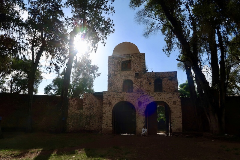 Selassi Church in Gondar