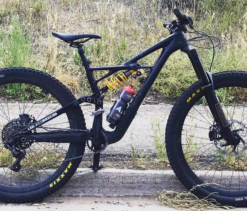 When Specialized Sent Me A Medium 2017 Enduro Öhlins Coil Thank You It Was 20mm Longer Than My Last Bike Sqlab 30x Handlebar Has Extra