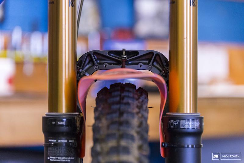 Rideguard PF1 Fender Wheel Guards Mud Splash Guard For MTB Bike Fender
