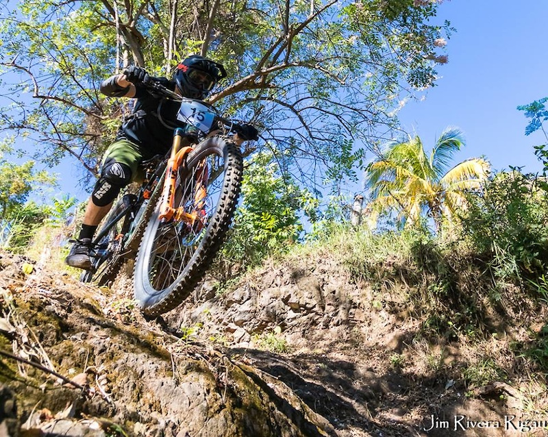 Steep and rocky is the best way to describe the three enduro stages of the Enduro La 22.