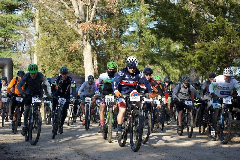 Race Start at the Mayhem H2H Race in South Jersey