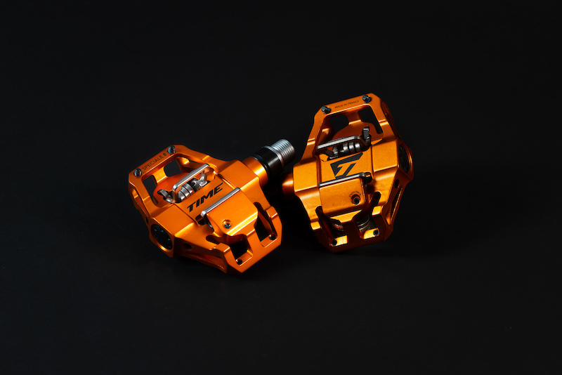 T2GV028 Time Speciale 8 ATAC Pedals Black