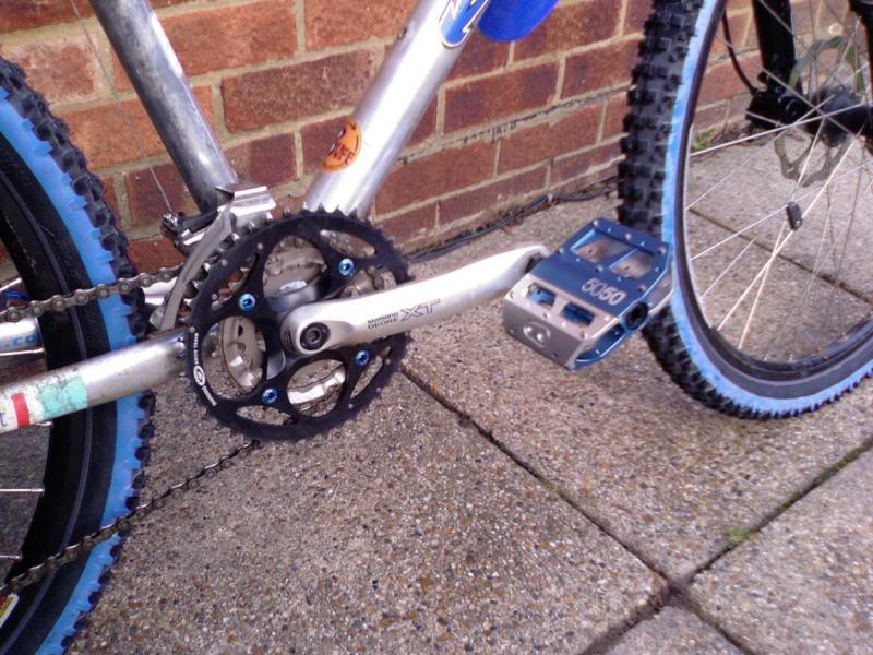 Crank & pedals