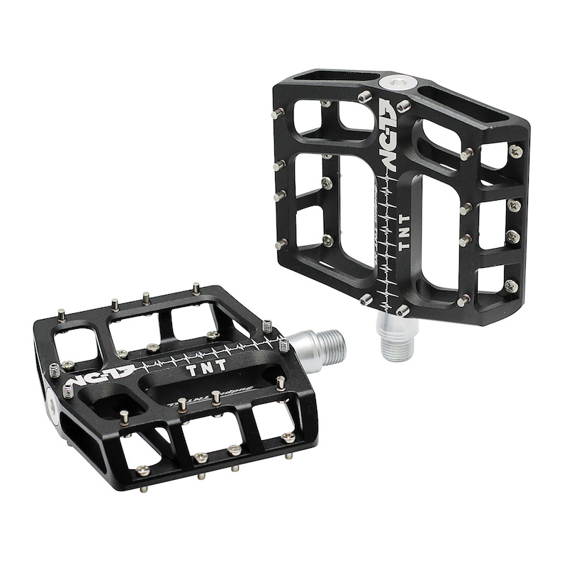 NC 17 Sudpin III S-Pro Aluminum Platform Pedals//Bicycle pedals MTB and BMX//optimized for Dirt and Freeride style//reduced height on 15 mm