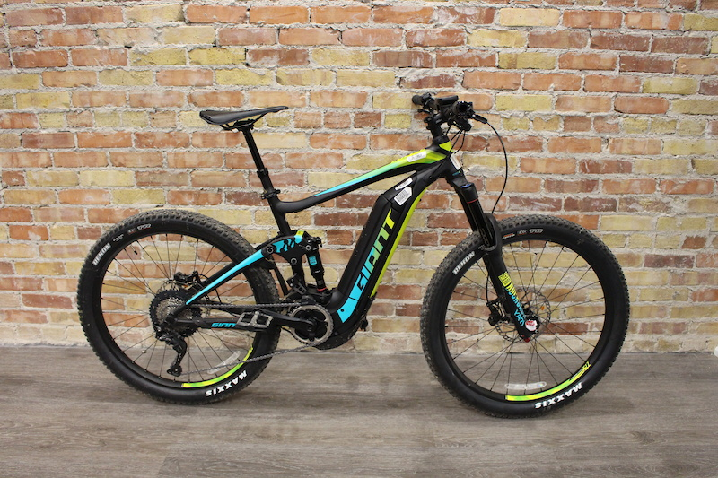 2018 giant full e sx pro black multi medium for sale