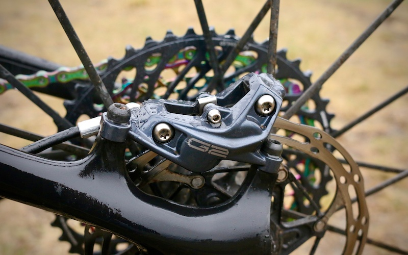 Sram Guide Ultimate hydro disc brakes carbon lever color and position options