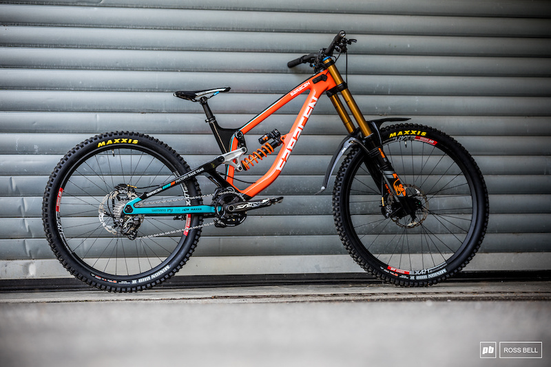 Bike Check: Danny Hart's 29/27 5