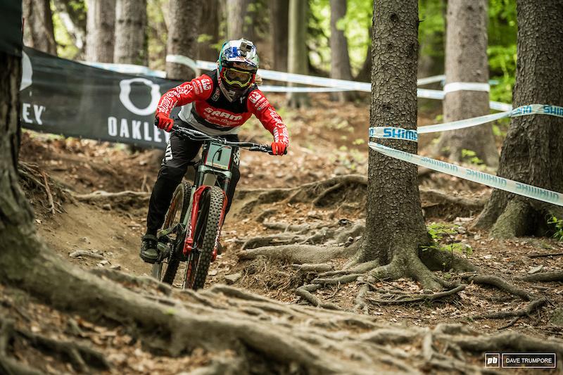 Loic Bruni & Tahnée Seagrave Win at Maribor
