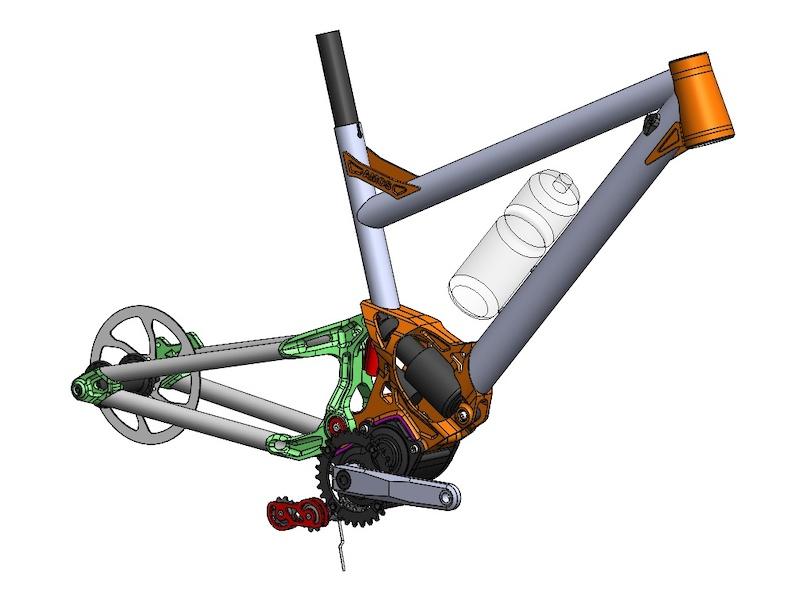 AMOS Design frame CAD