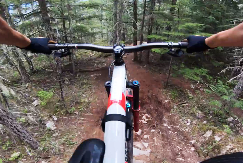 Video: Yoann Barelli Guides You Down Whistler's Green Monster Trail - Pinkbike