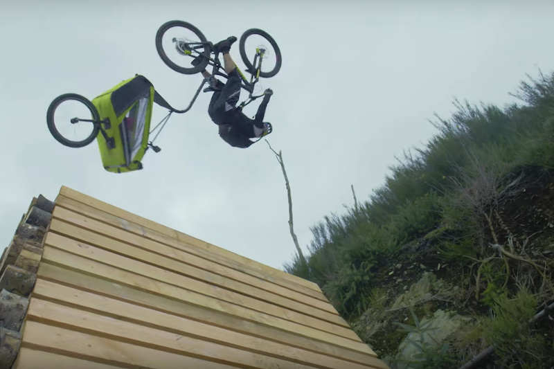 Must Watch: Danny MacAskill is the World's Best Babysitter - Pinkbike