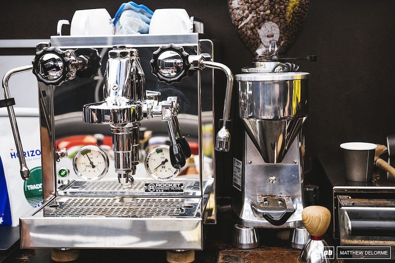 Who Has the Best Espresso in the Pits? - Nove Mesto World