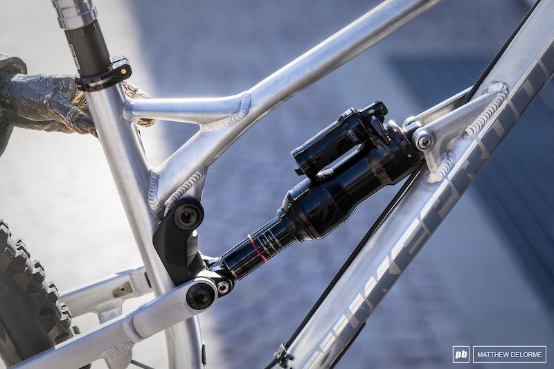Bike Check: Sam Hill's Bare Aluminum Nukeproof Mega - Pinkbike