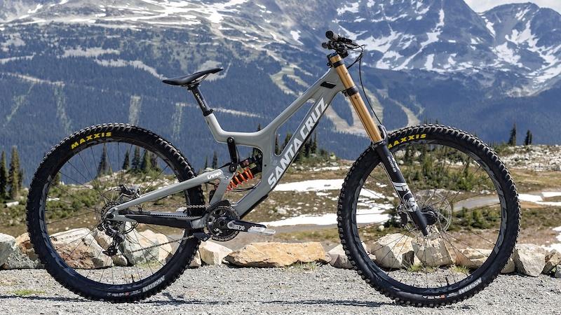 Review Santa Cruz V10 29 A Highly Refined Rapid Dh Race Bike Pinkbike