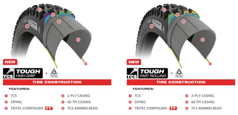 Tire design info