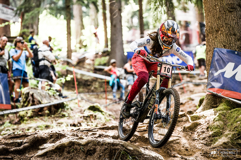 Getting to Know: Camille Balanche - From Ice Hockey Olympian to World Cup Podiums - Pinkbike.com