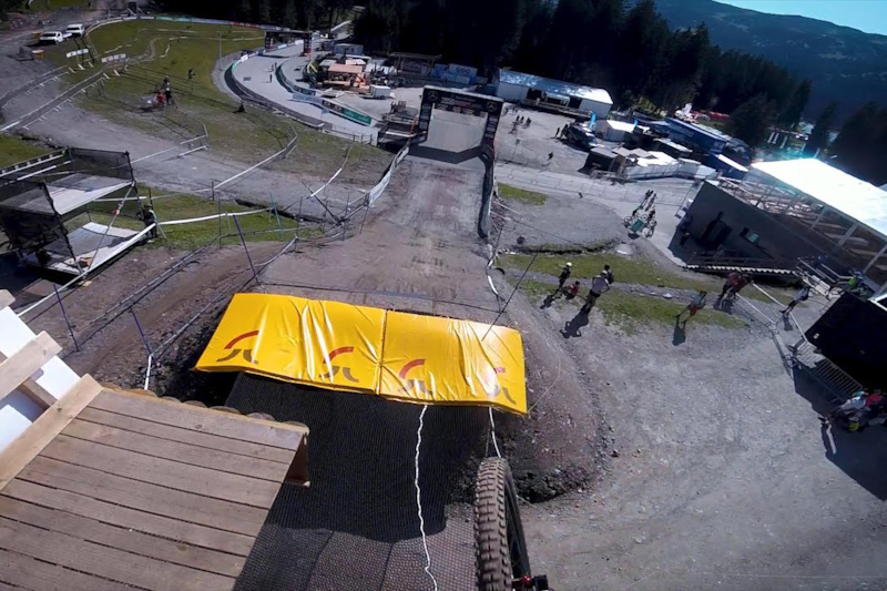Video: Luca Shaw Course Preview POV - Lenzerheide World Cup DH 2019 - Pinkbike