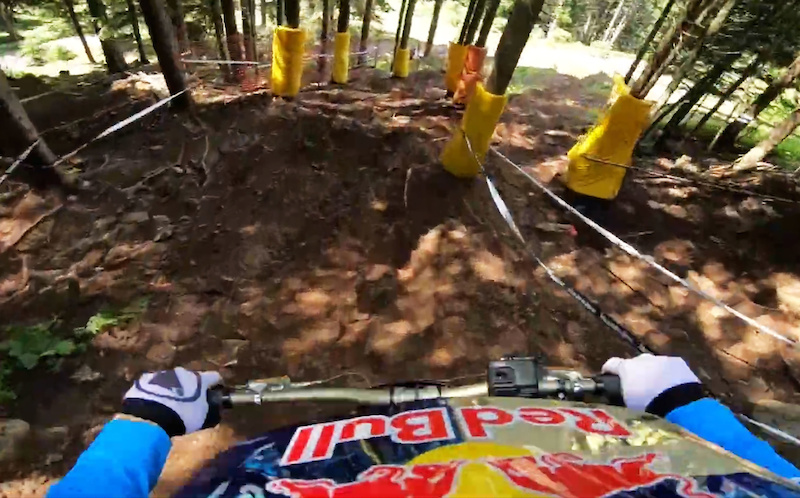 Video: Course Preview with Gee Atherton - Lenzerheide DH World Cup 2019 - Pinkbike