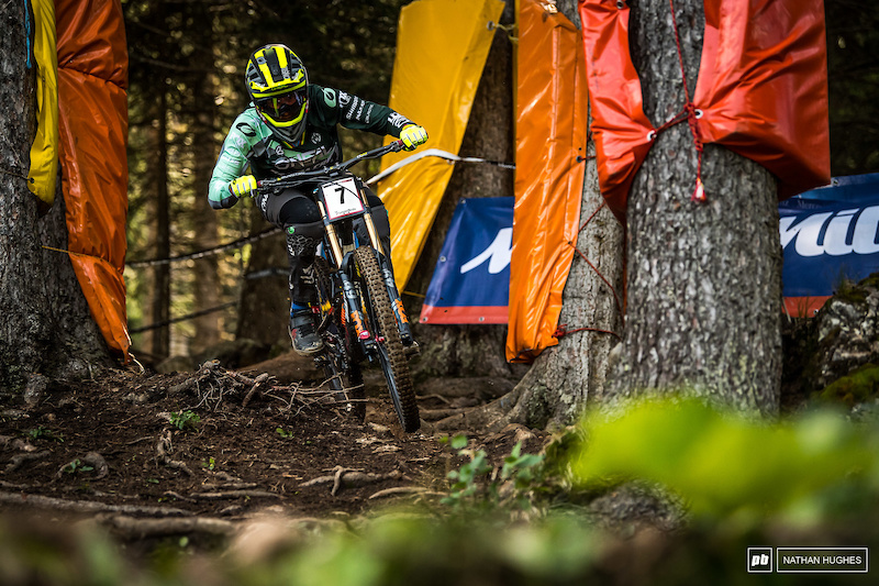 Needless to say the GOAT really is one of mountain biking's greatest treasures. 4th place in qualies for the only man to win at this venue more than once.