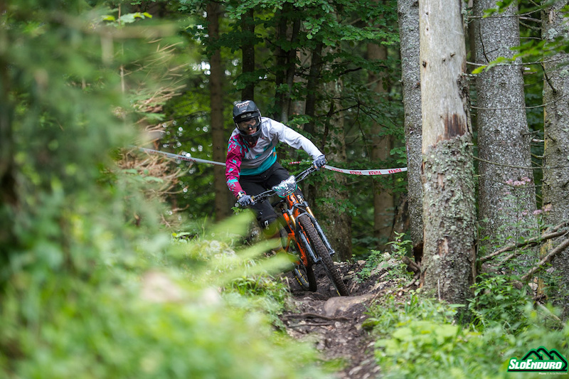 Enduro Krvavec SloEnduro rd. 3 and Slovenian National Championships August 25. Winner Max Fejer. Photo by An e Petkov ek